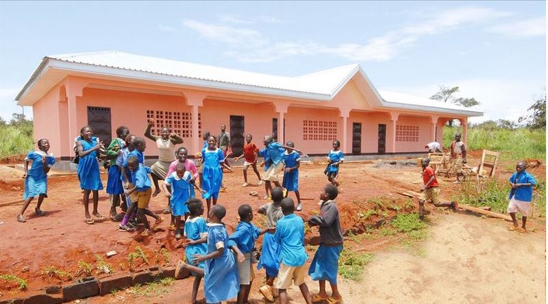 File Picture, A primary school in Cameroon