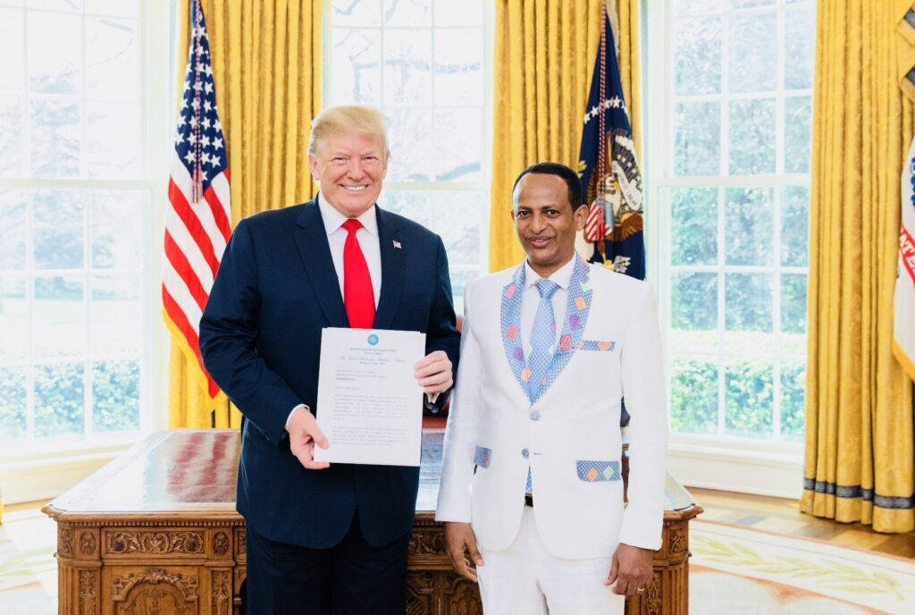 Bias from the Trump administration in support of Egypt did not help relations between the USA and Ethiopia says Ambassador Arega