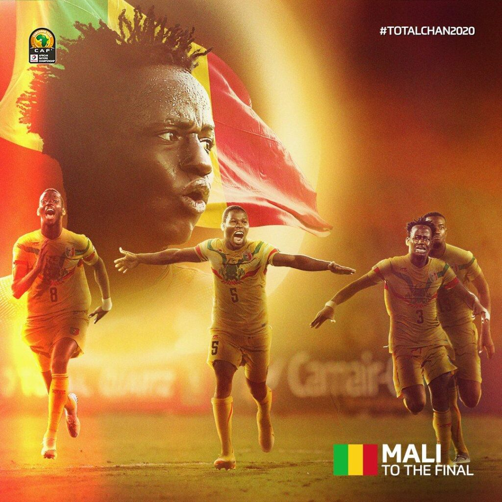 The Eagles of Mali are reaching their second CHAN finals after that of 2016