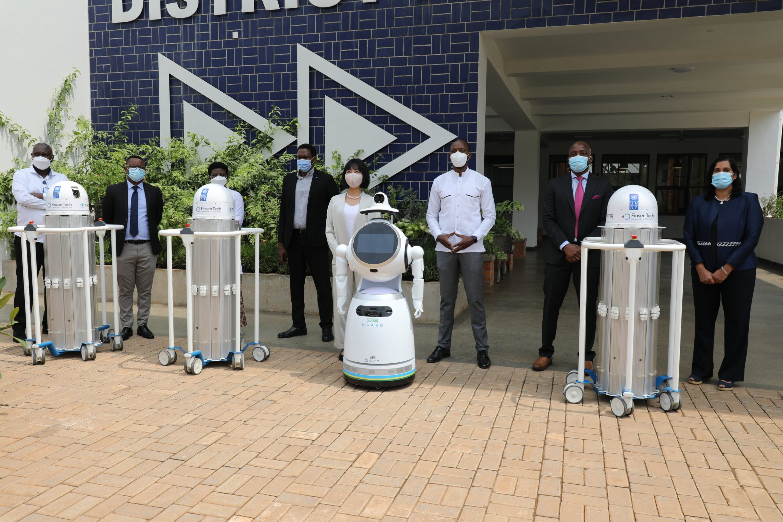 The new robots are cutting-edge Ultra Violet light robots which will help in cleaning and disinfecting treatment centres, hospitals and places of mass gathering