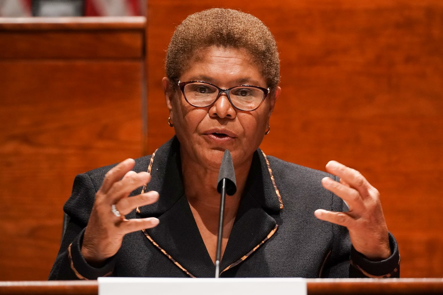 Congressmember Karen Bass (D-CA), is Chair of the House Foreign Affairs Subcommittee on Africa, Global Health, and Global Human rights