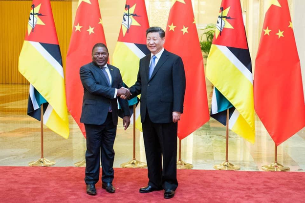 President Nyusi with Chinese leader Xi Jinping
