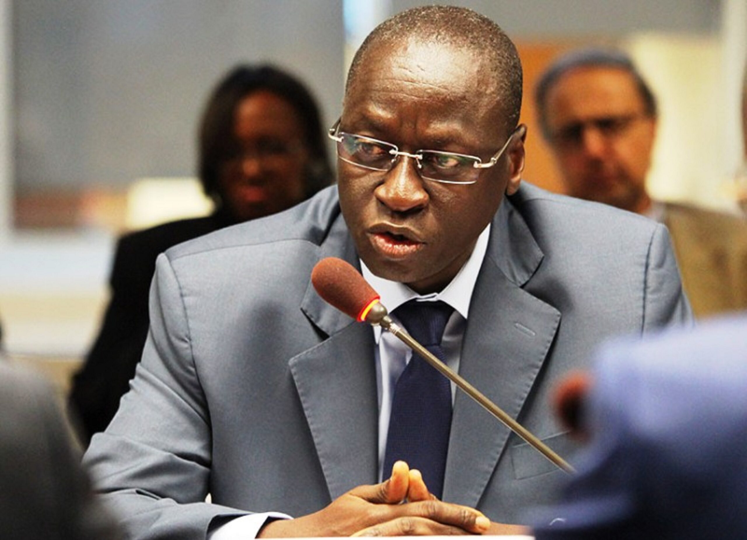 Ousmane Diagana, World Bank Vice President for Western and Central Africa