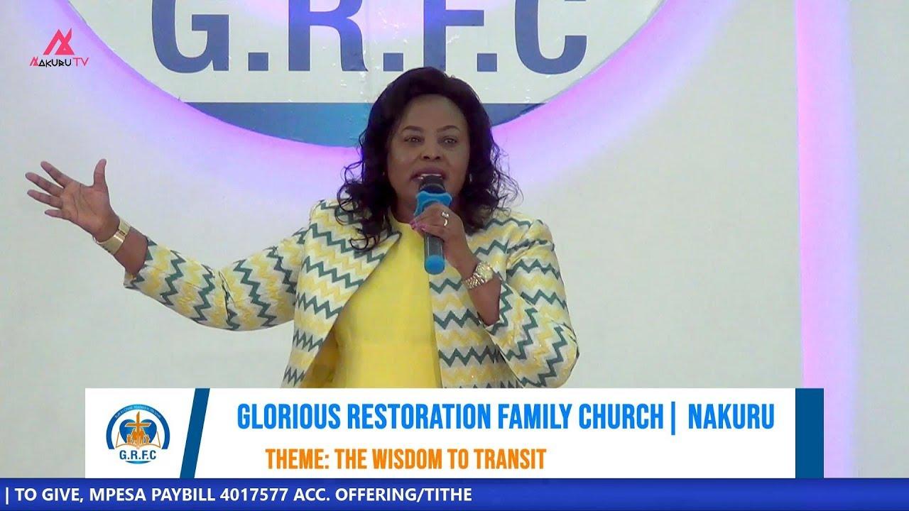 Bishop Dr. Nancy Kinuthia of Glorious Family Church Nakuru