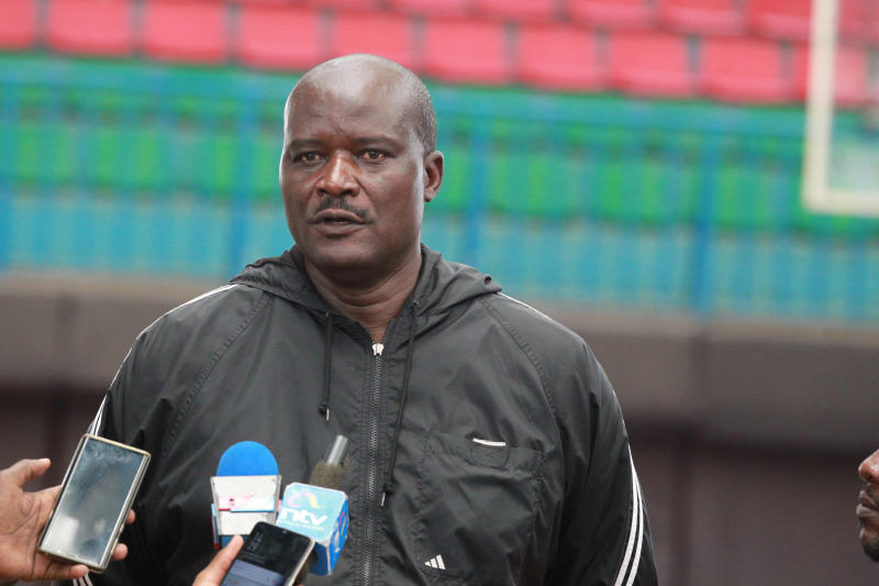 Kenya Basketball Federation (KBF) chairman Paul Otula