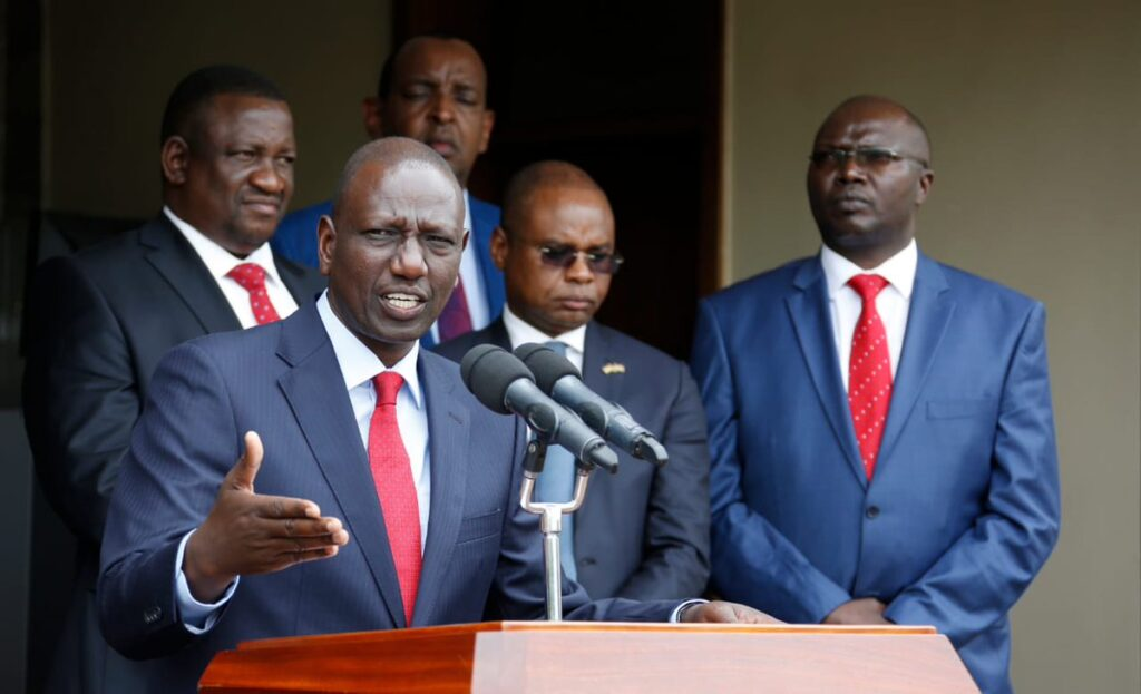 Down but not out Deputy President Ruto is showing no signs of abandoning his Presidential ambitions.Photo courtesy