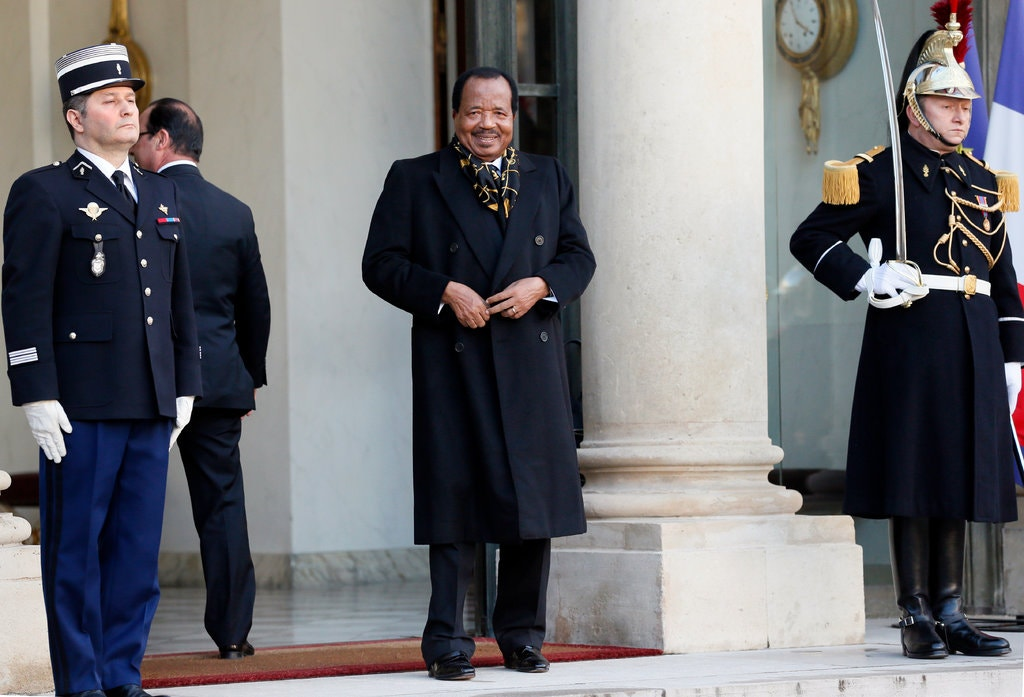 Cameroon's President paul Biya has been in power since 1982