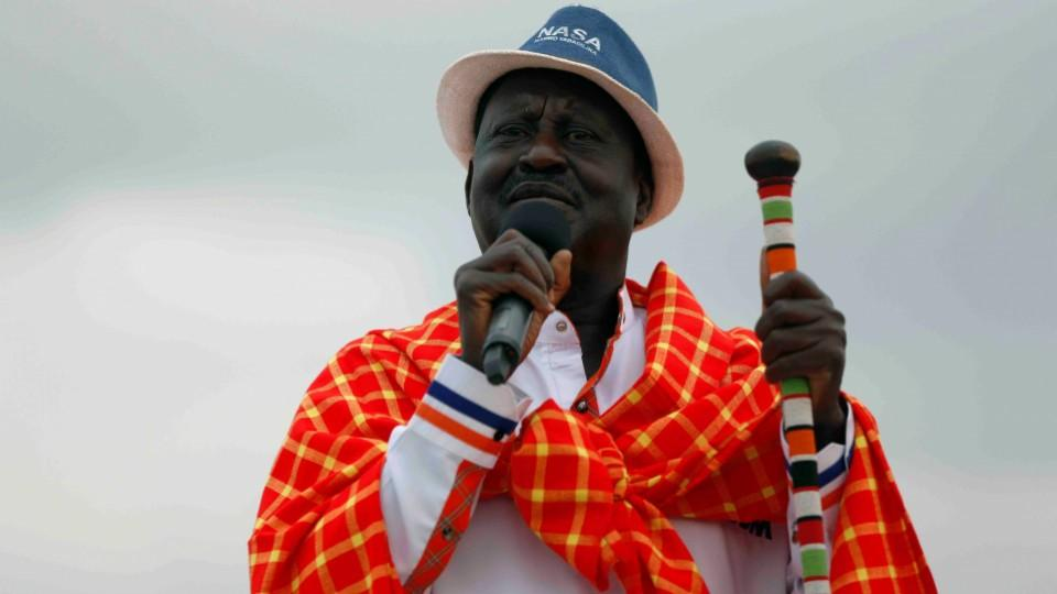 Opposition leader Raila Odinga said he was strong and in good shaping, noting that he will proceed to a mandatory quarantine for 14 days