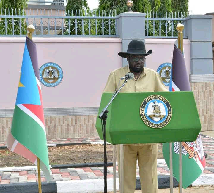"At this moment, the people of the Republic of South Sudan stand in solidarity with the Government of the United Republic of Tanzania,"" says Kiir."