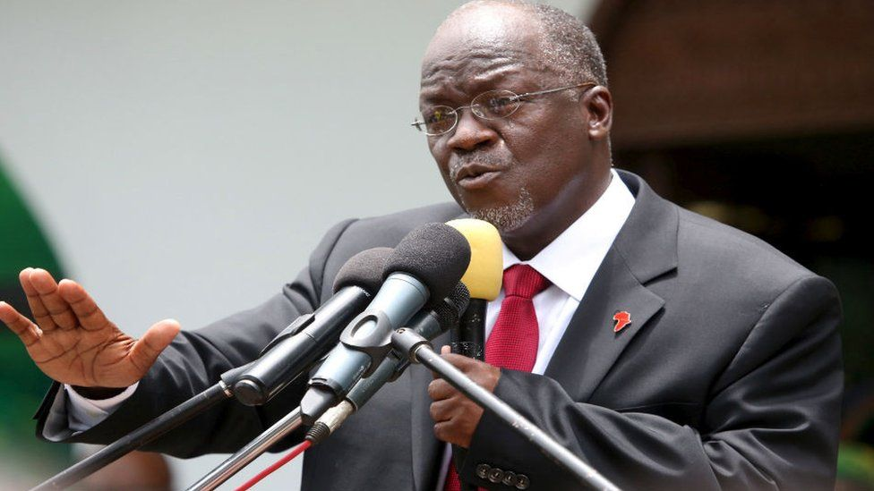 The government of Tanzania is not saying much on the whereabouts of President Magifuli