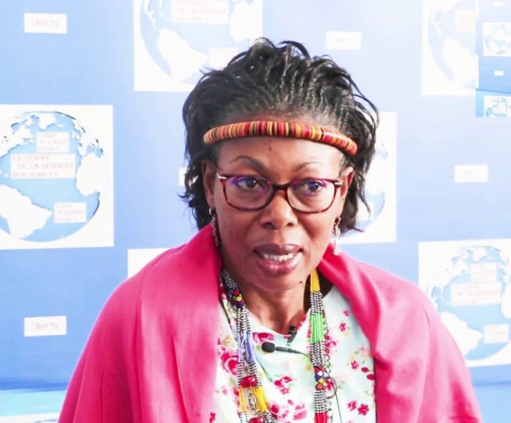 Maxi Ngo Mbe has been an outspoken voice among civil society actors, often sacrificing her personal safety, in the push for a peaceful solution to the Anglophone crisis in Cameroon, says the State Department
