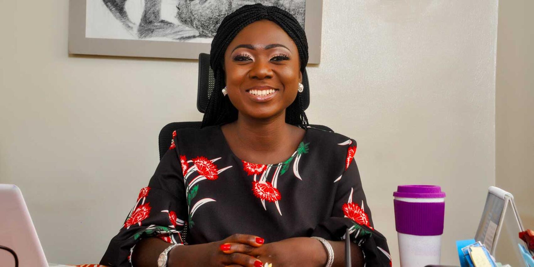 Oluwaseun Sangoleye is CEO of Baby Grubz, a Nigerian social enterprise that she founded when her son's health waned after he refused traditional baby foods and formulas.