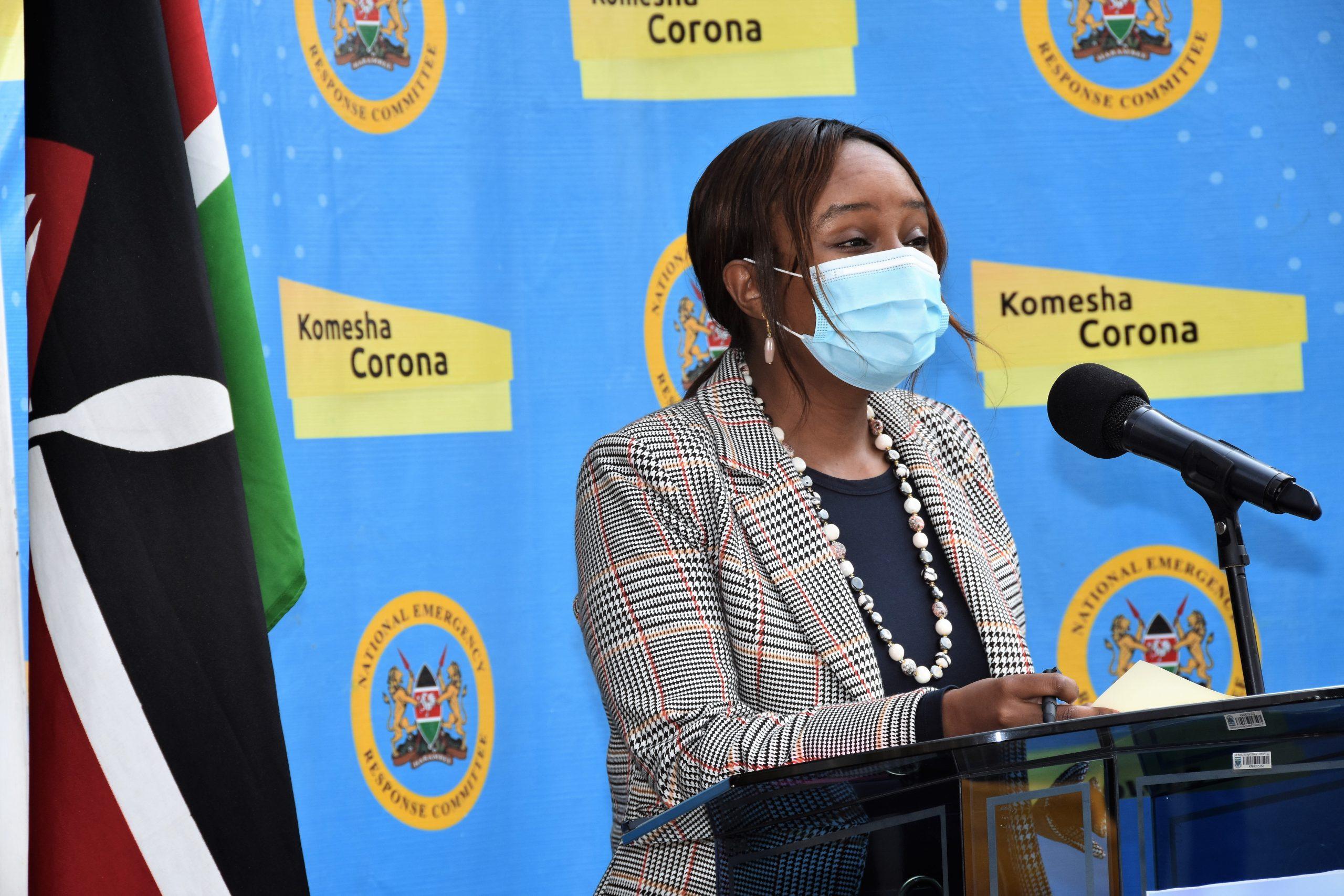 Health Chief Administrative Secretary (CAS) Dr. Mercy Mwangangi
